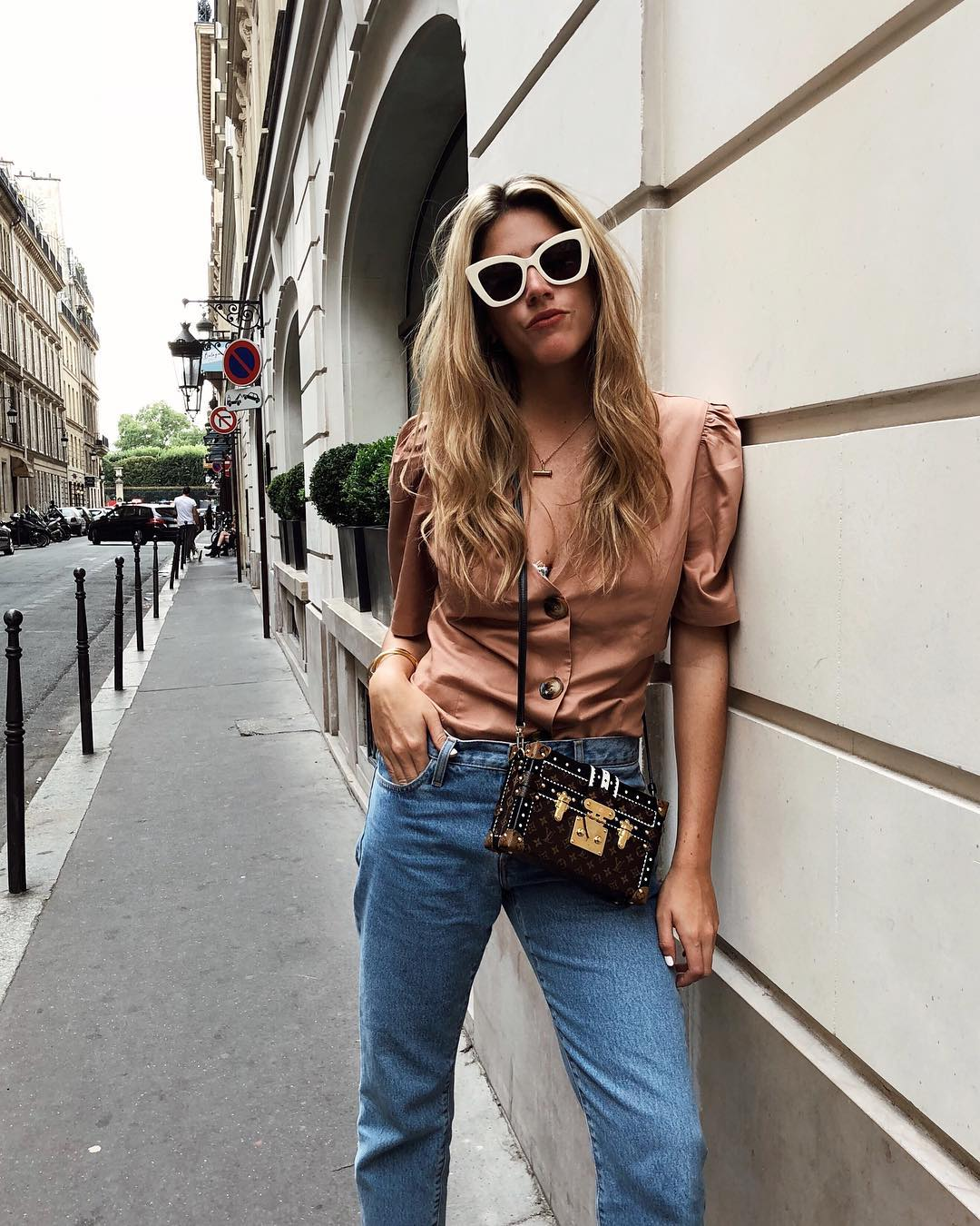 On the streets of the Paris Haute Couture Shows