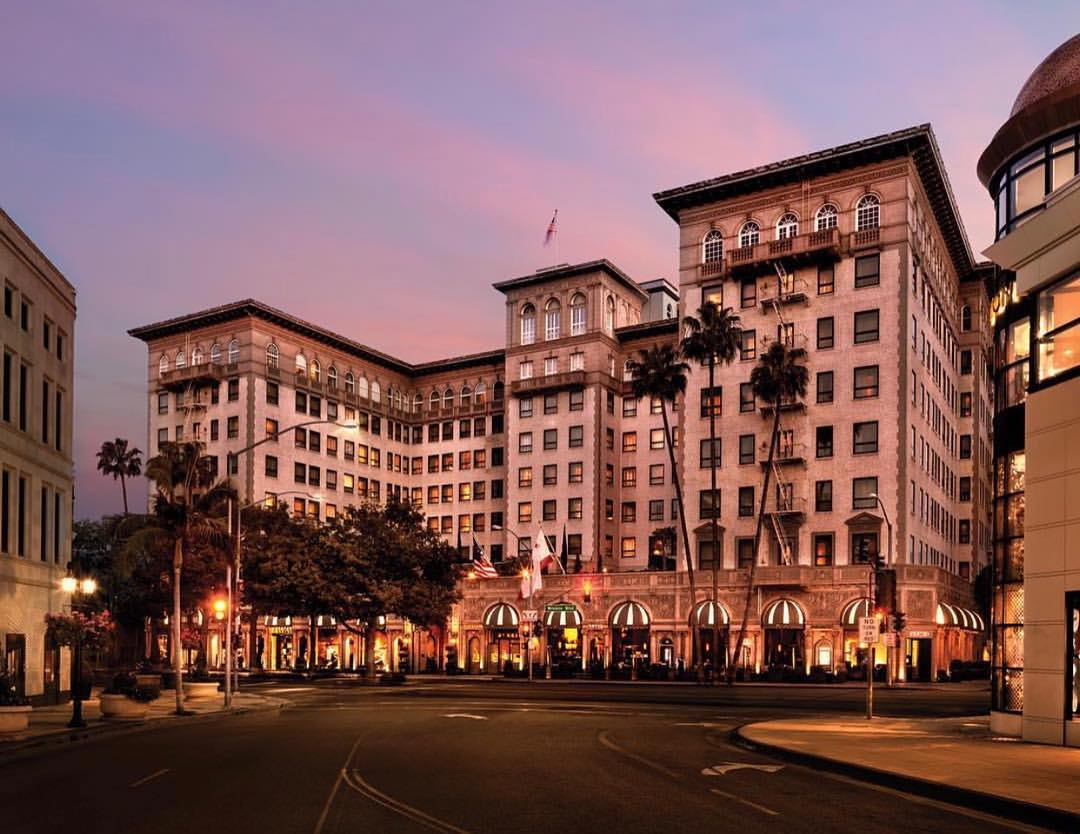 MY STAY AT THE BEVERLY WILSHIRE
