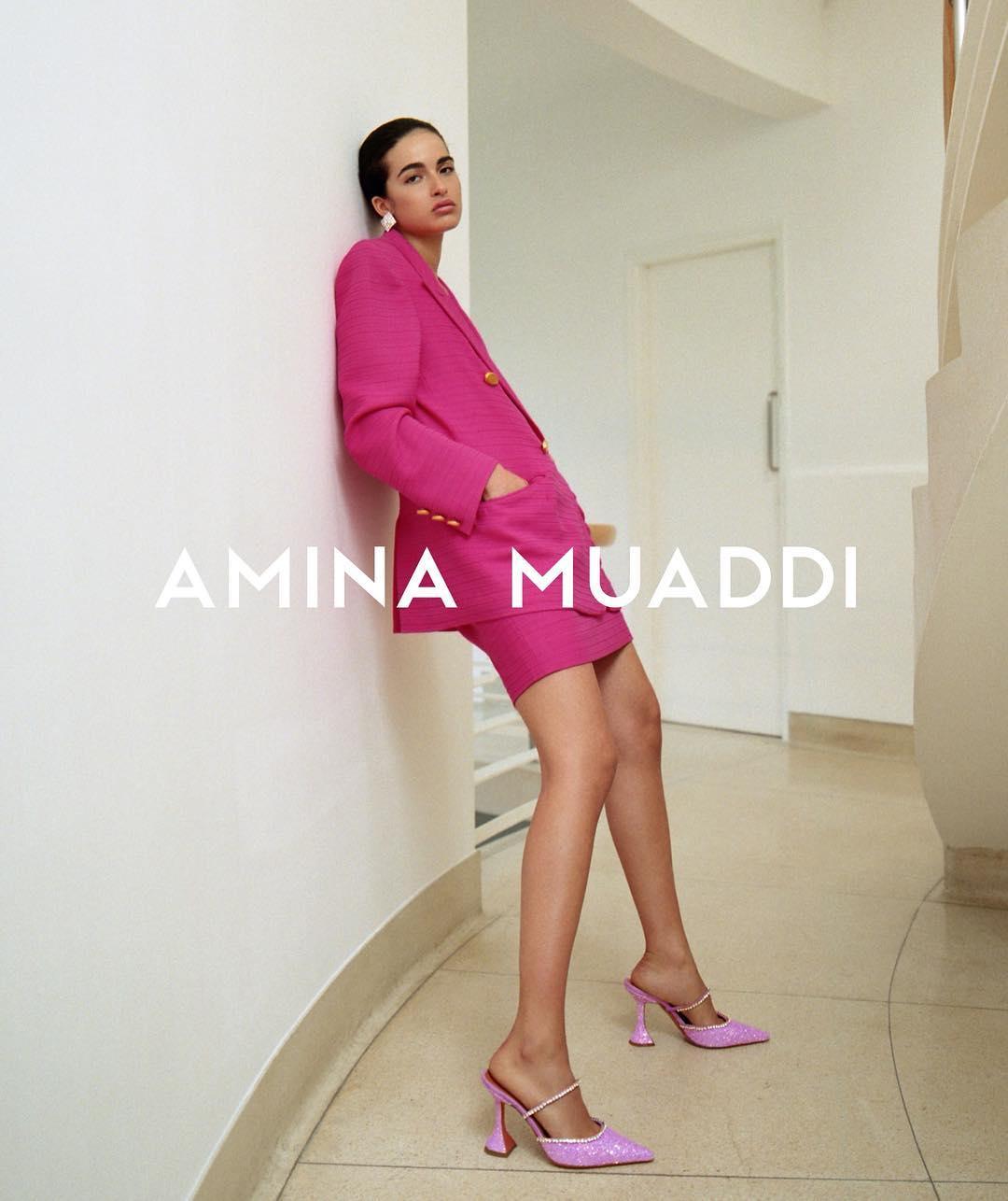 AMINA MUADDI THE NEW SHOE SENSATION